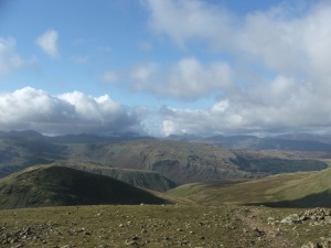 View from Fairfield summit to the west